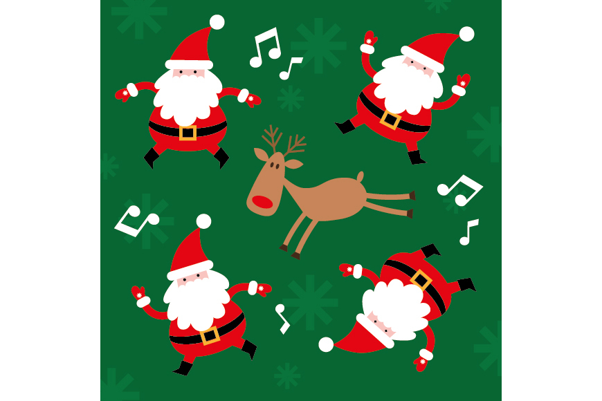 Christmas Patterns Collection. 12 of the jpeg files in resolution 4167*4167 px and 12 files eps8. example image 7