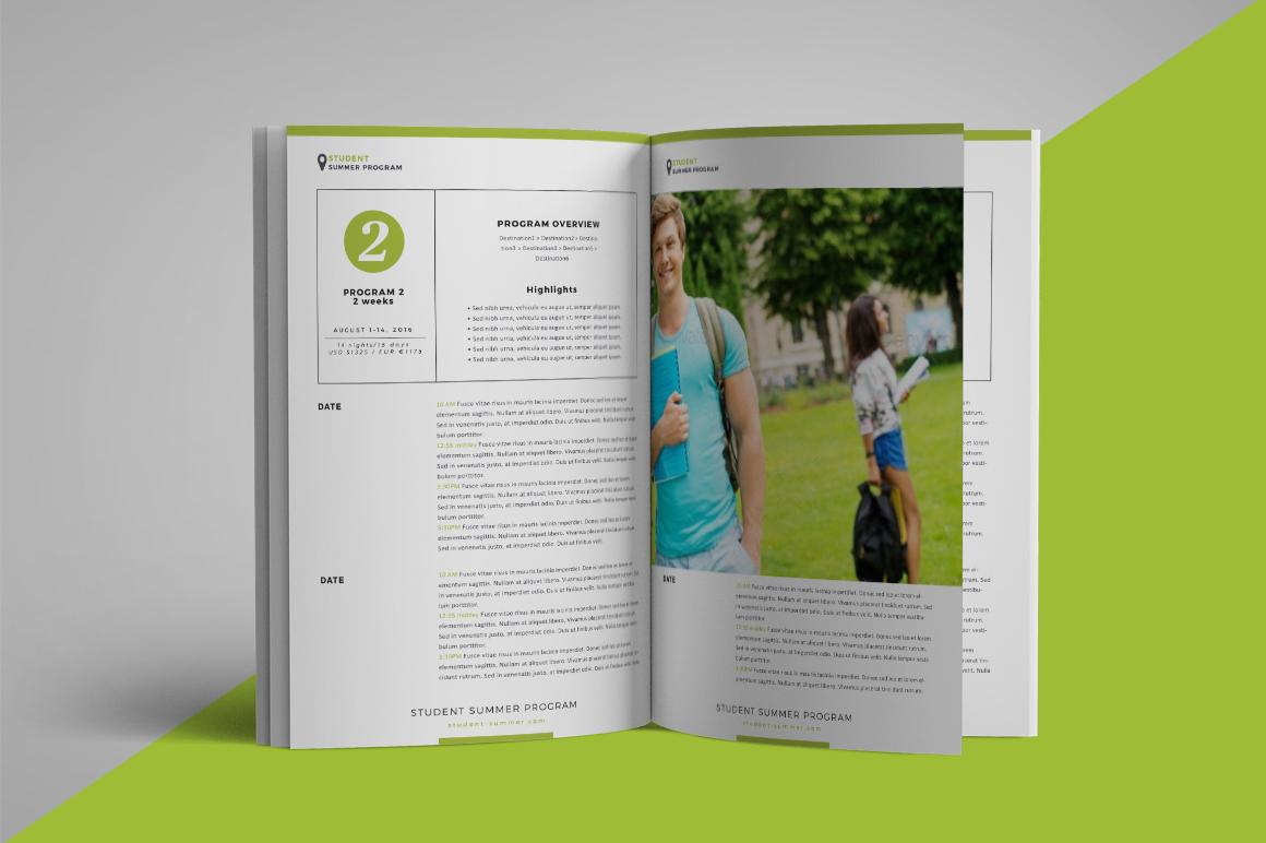 School program brochure example image 5