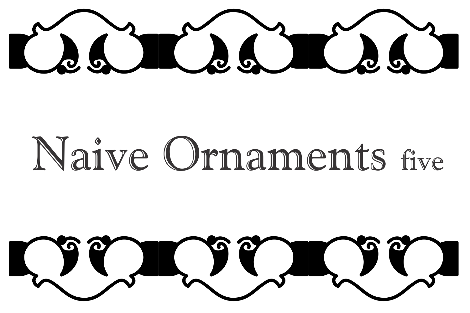 Naive Ornaments Five example image 4