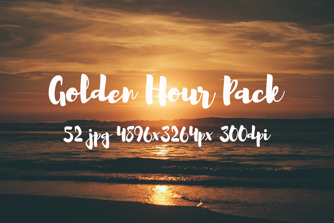Golden hour Pack example image 12