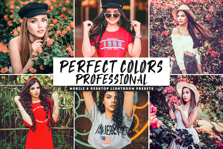 Perfect Colors Pro Mobile & Desktop Lightroom Presets example image 1