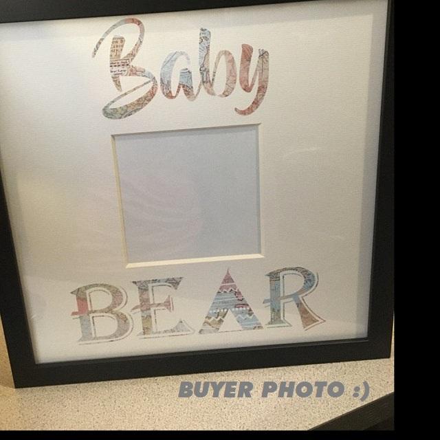 Baby bear SVG - Baby bear svg digital -Baby bear with Arrow example image 4