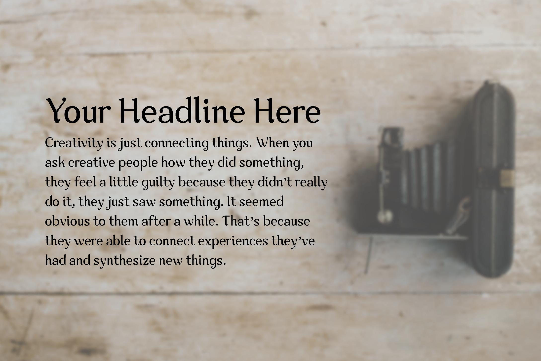Nova Classic Stylish Display Font example image 4