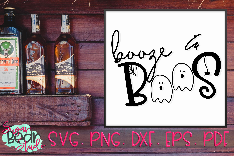 Booze & Boos - A Halloween SVG example image 2