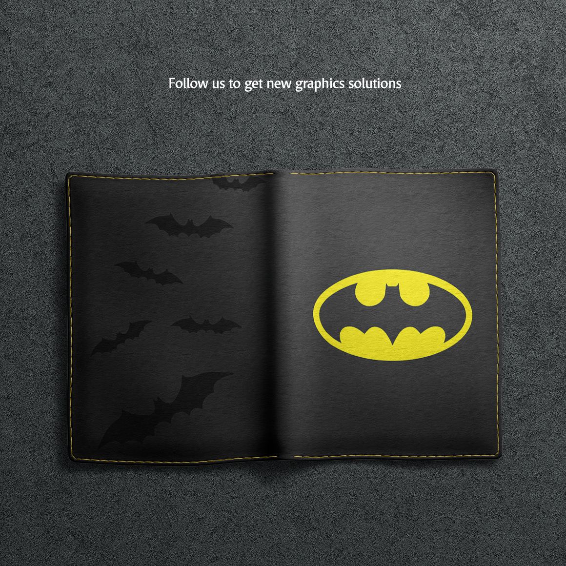 Leather Passport Cover Mockup example image 8