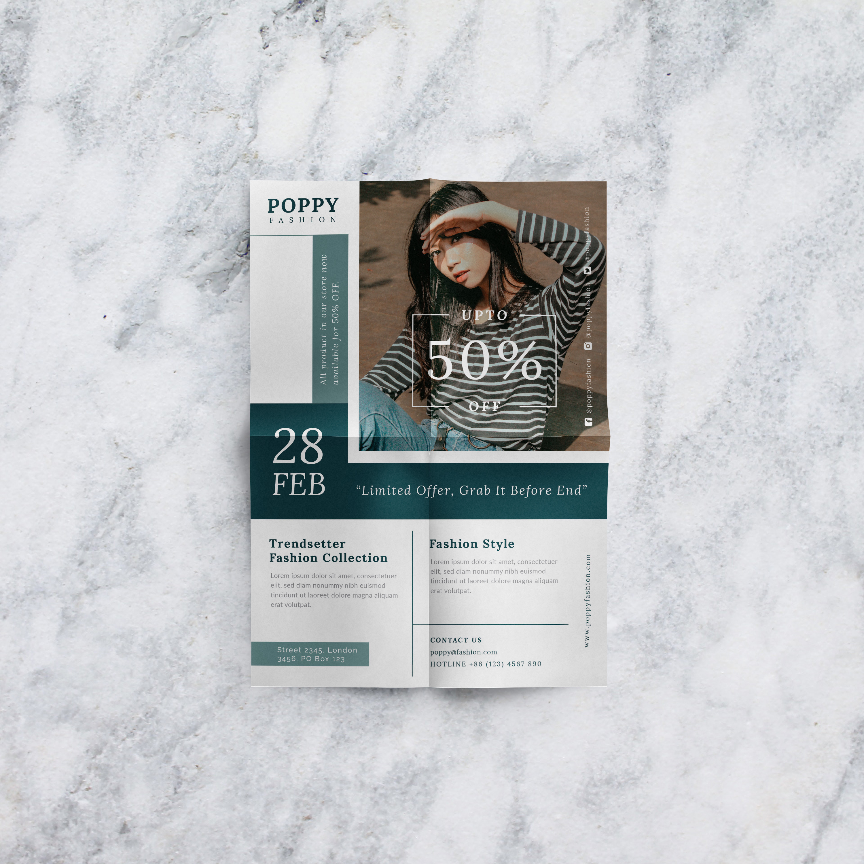 Poppy - Fashion flyer example image 7
