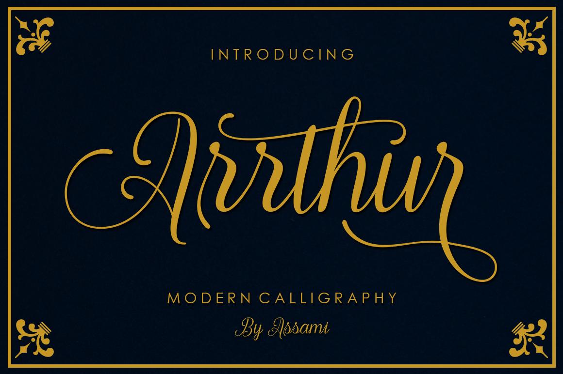 Arrthur example image 1