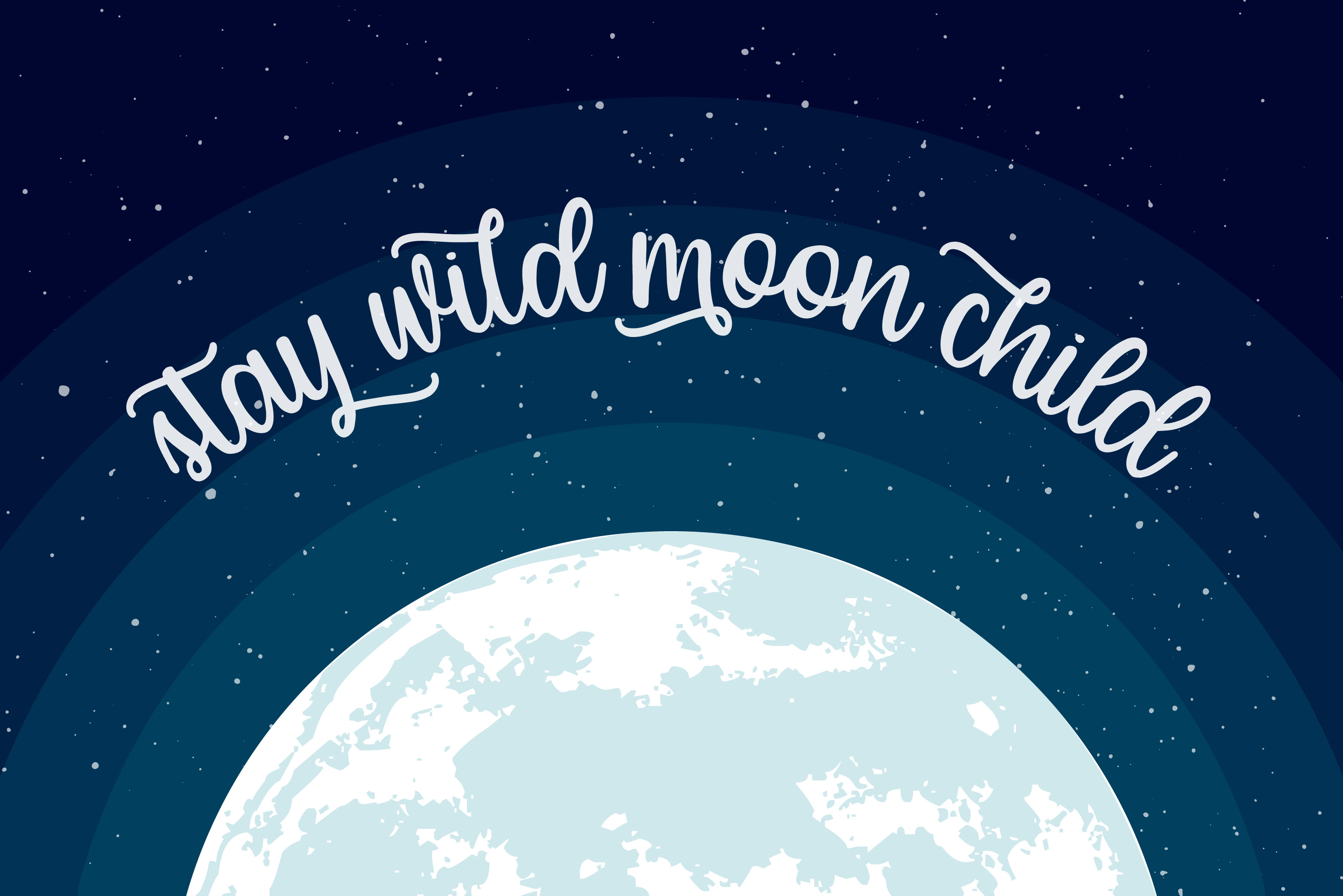 Moon Child Font Trio example image 5