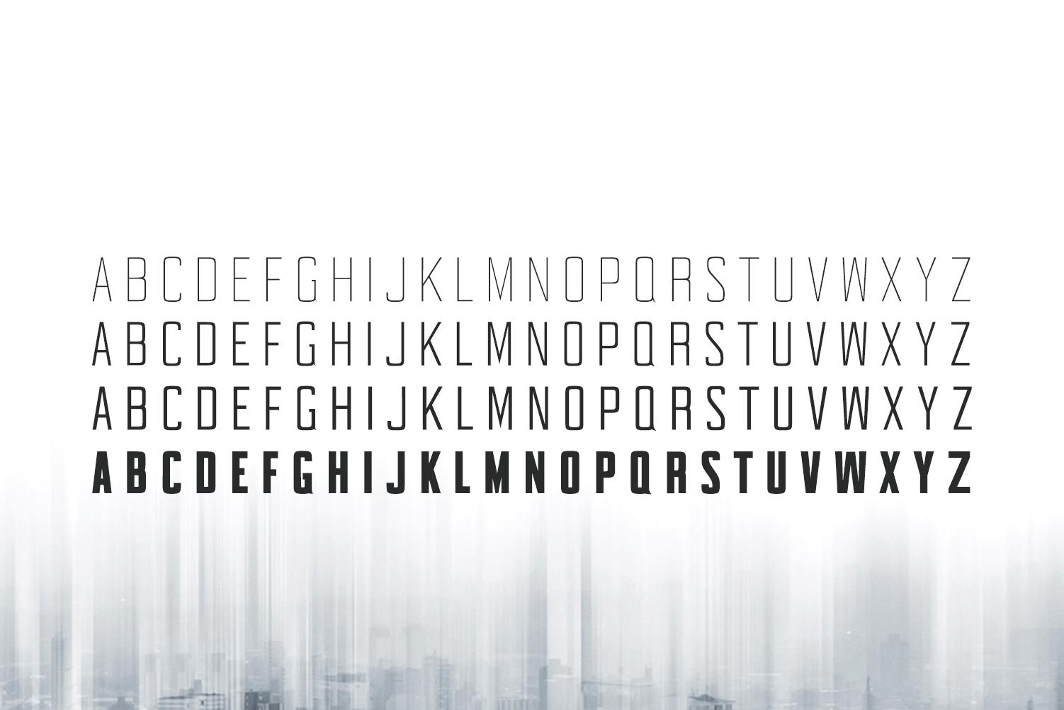 Sheylla Sans Serif Typeface example image 5