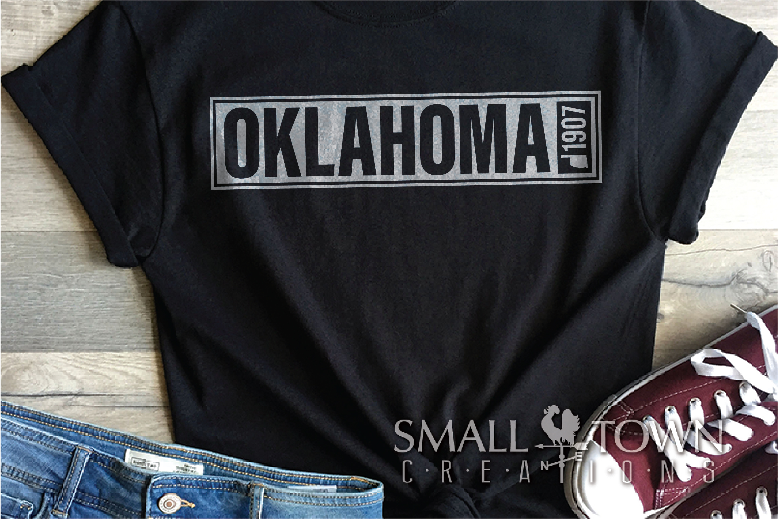 Oklahoma, Pioneers of the Prairie, PRINT, CUT & DESIGN example image 6