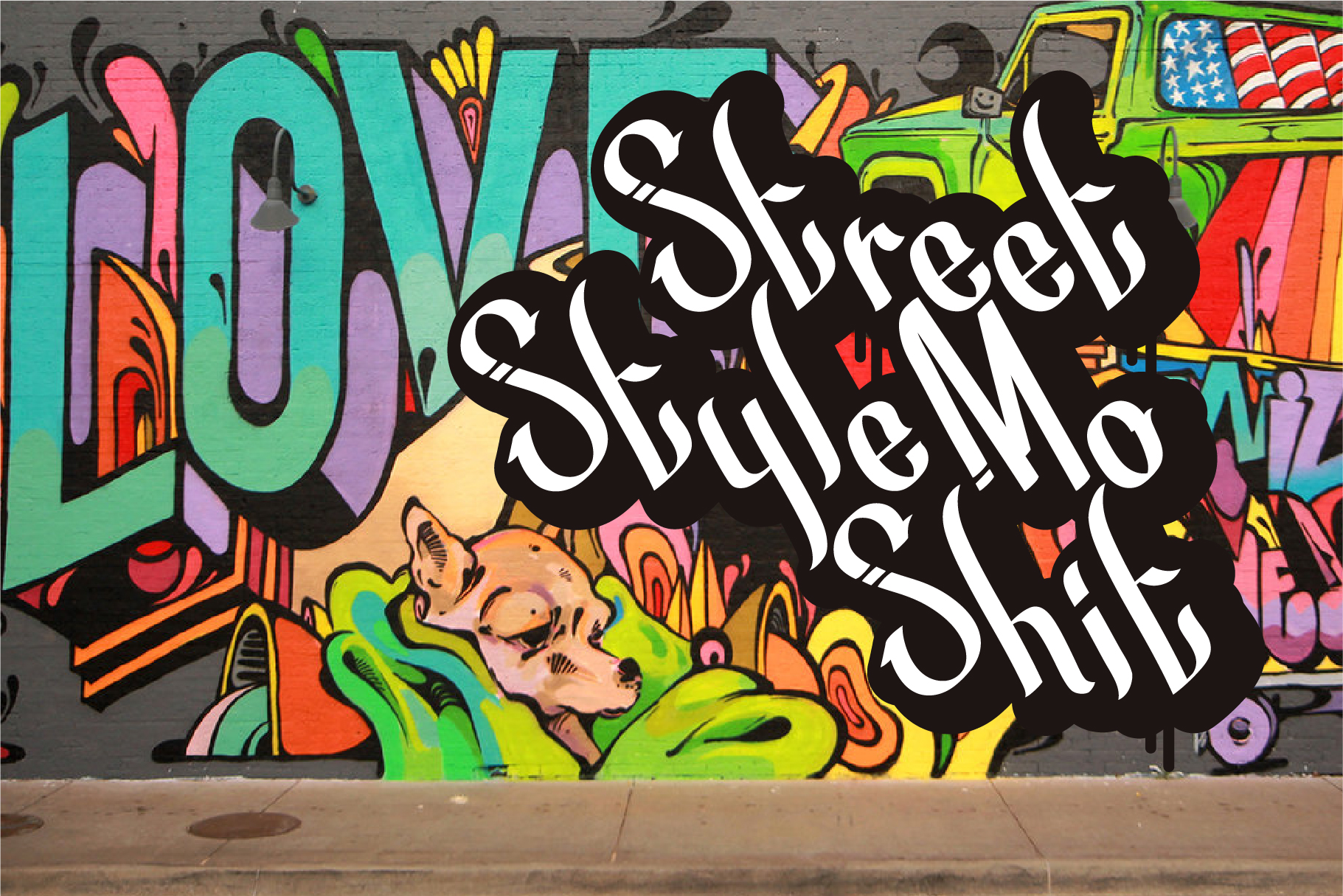 Street Beat Graffiti Typeface example image 6