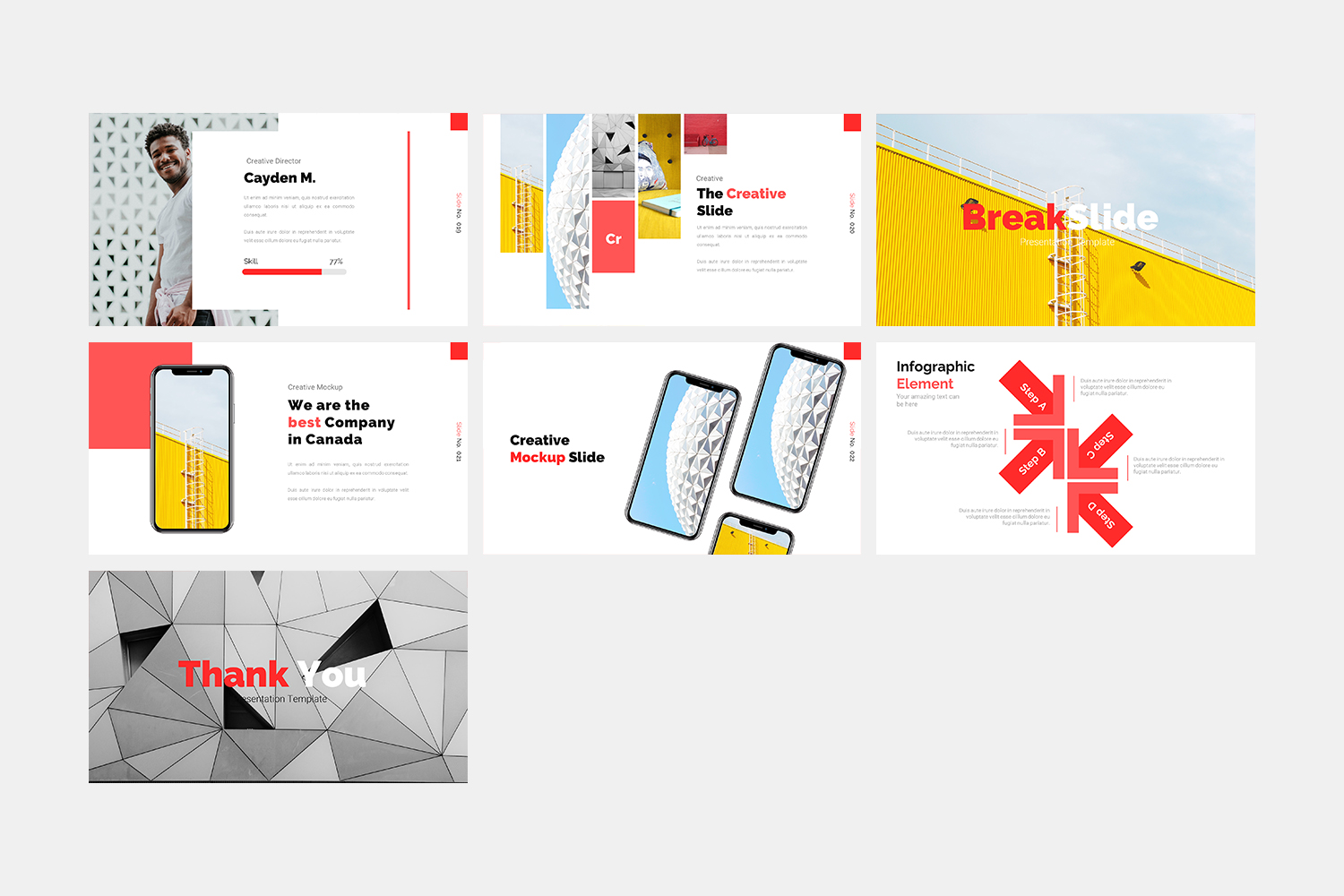 Architecture - Keynote Template example image 4