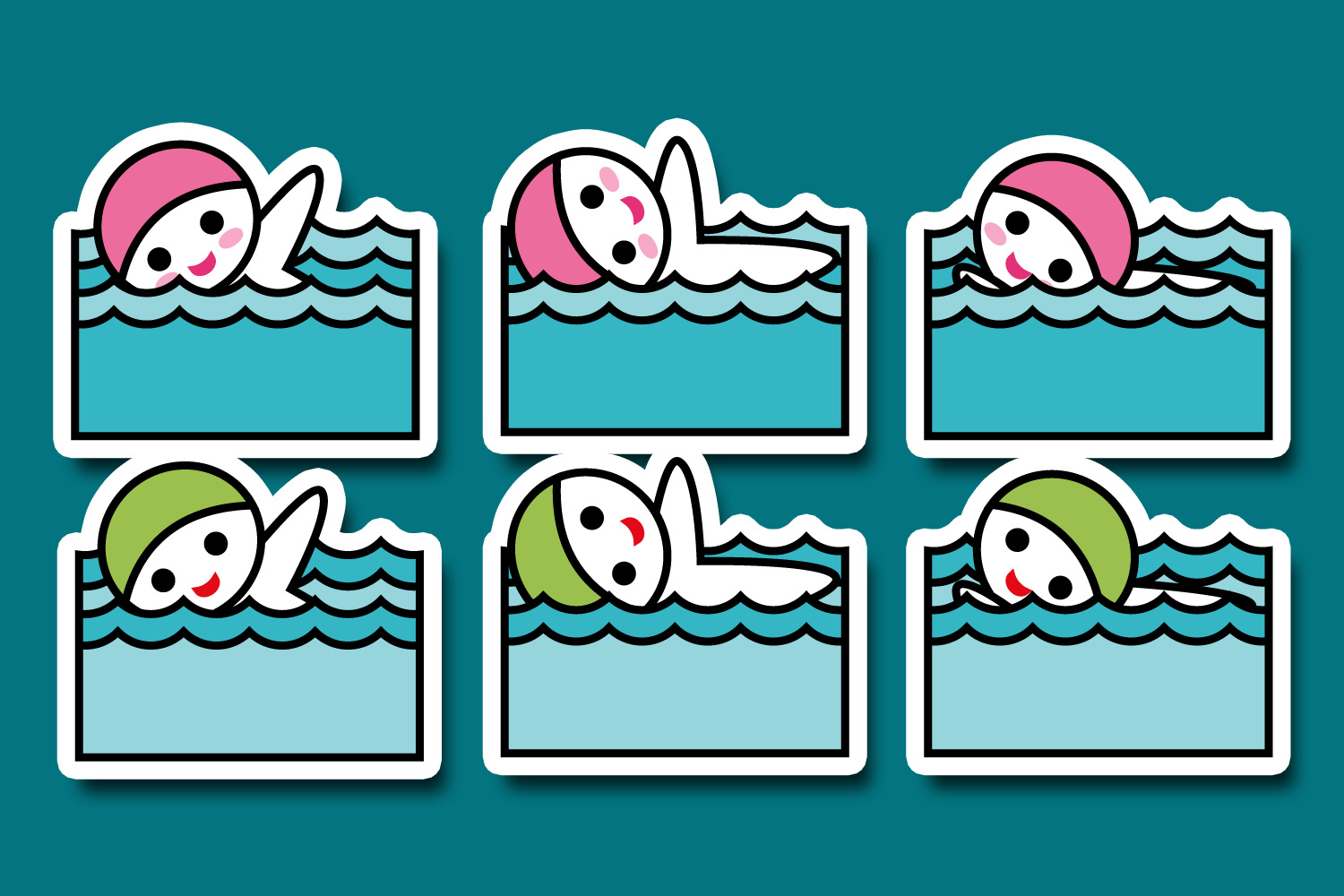 Hobby illustrations bundle - planner sticker graphics example image 10