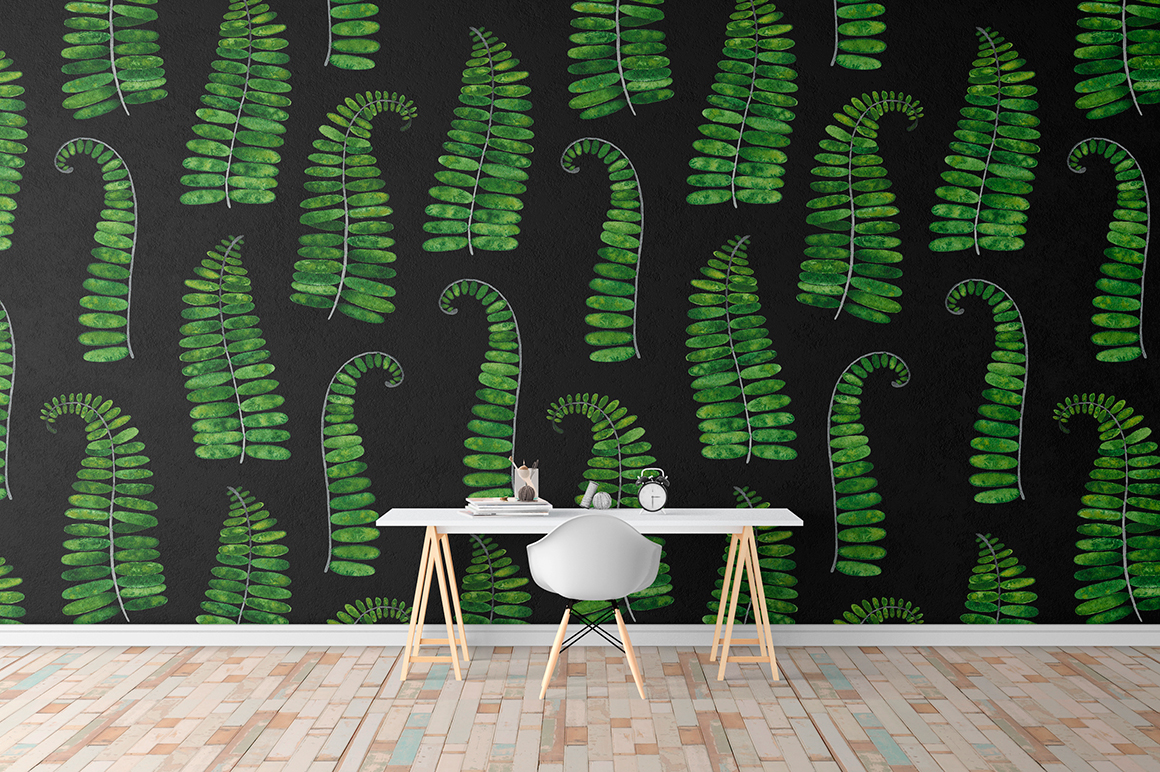 Tropical summer patterns example image 4