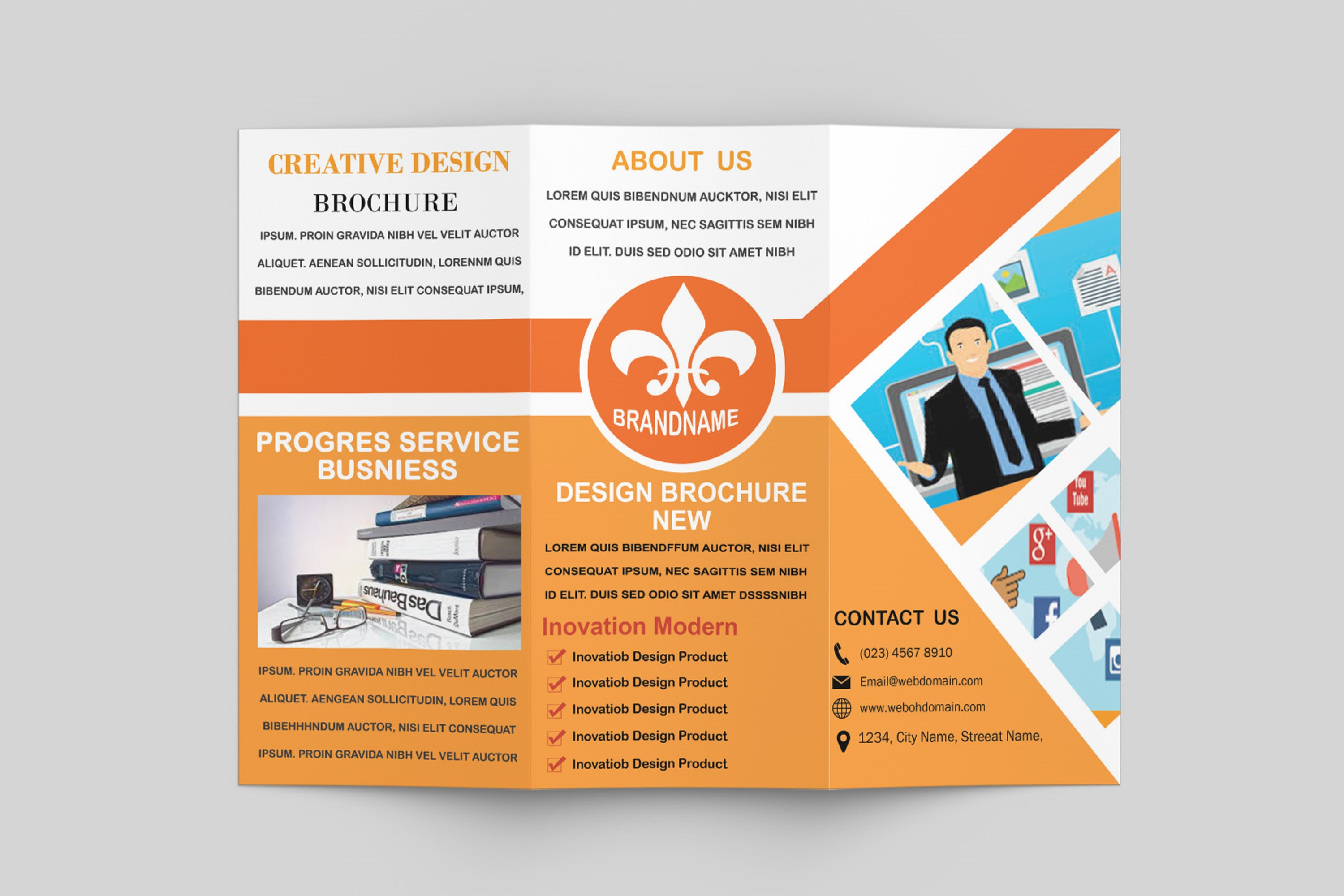 Trifold Brochure Template example image 5