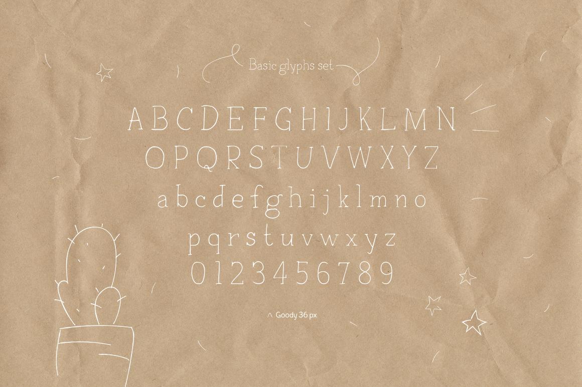 Goody—handwritten font example image 4