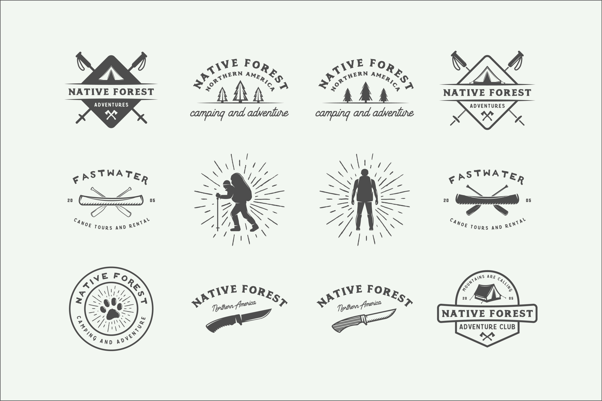 Camping and Adventure Emblems example image 8