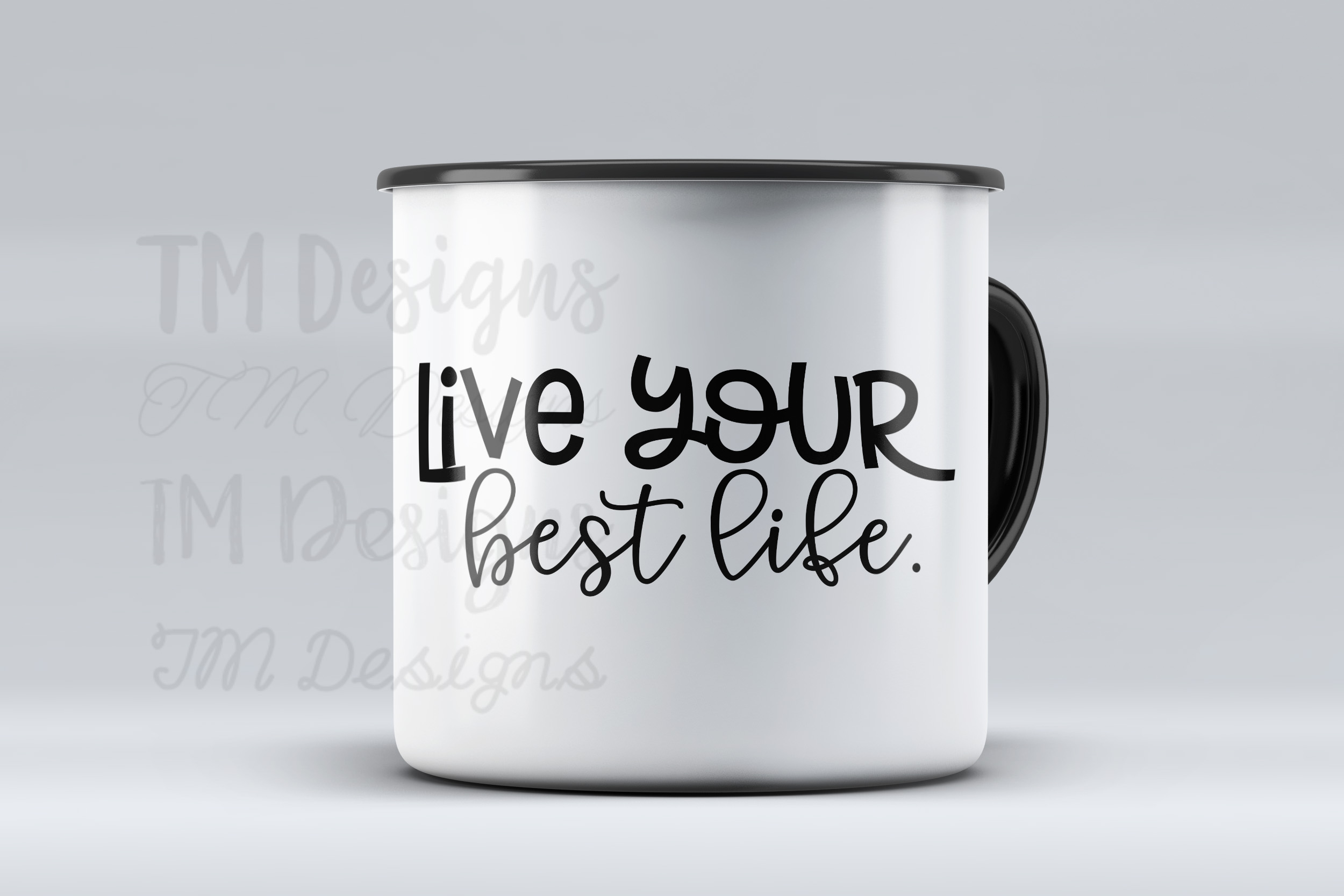Live Your Best Life SVG example image 2