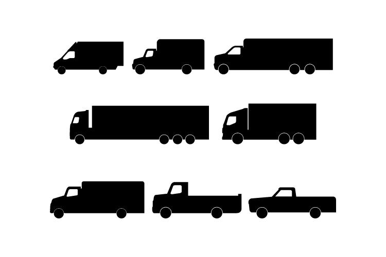 Set of trucks example image 1