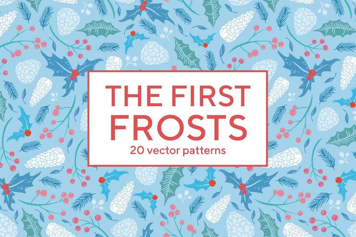 The first frosts patterns collection example image 1