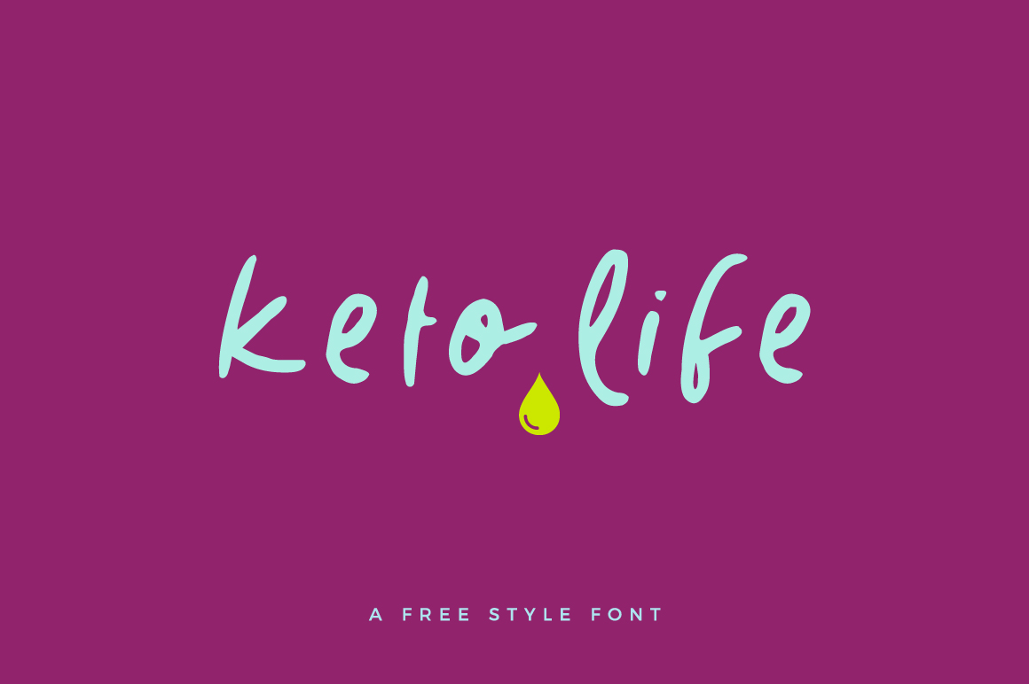 Keto Life Font example image 1