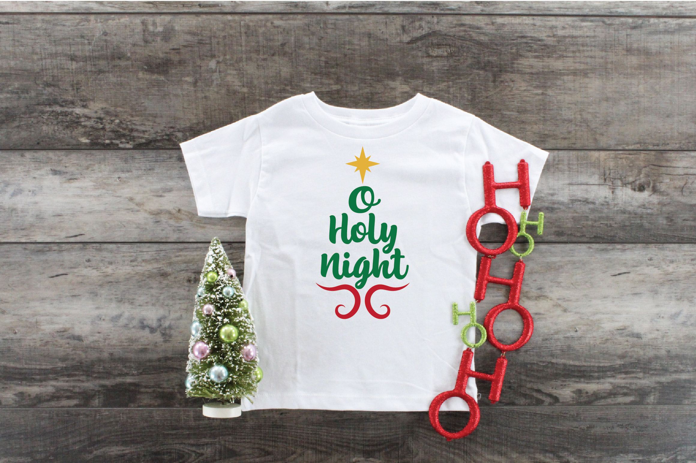 O Holy Night SVG Cut File - Christmas SVG - DXF - PNG - EPS example image 7