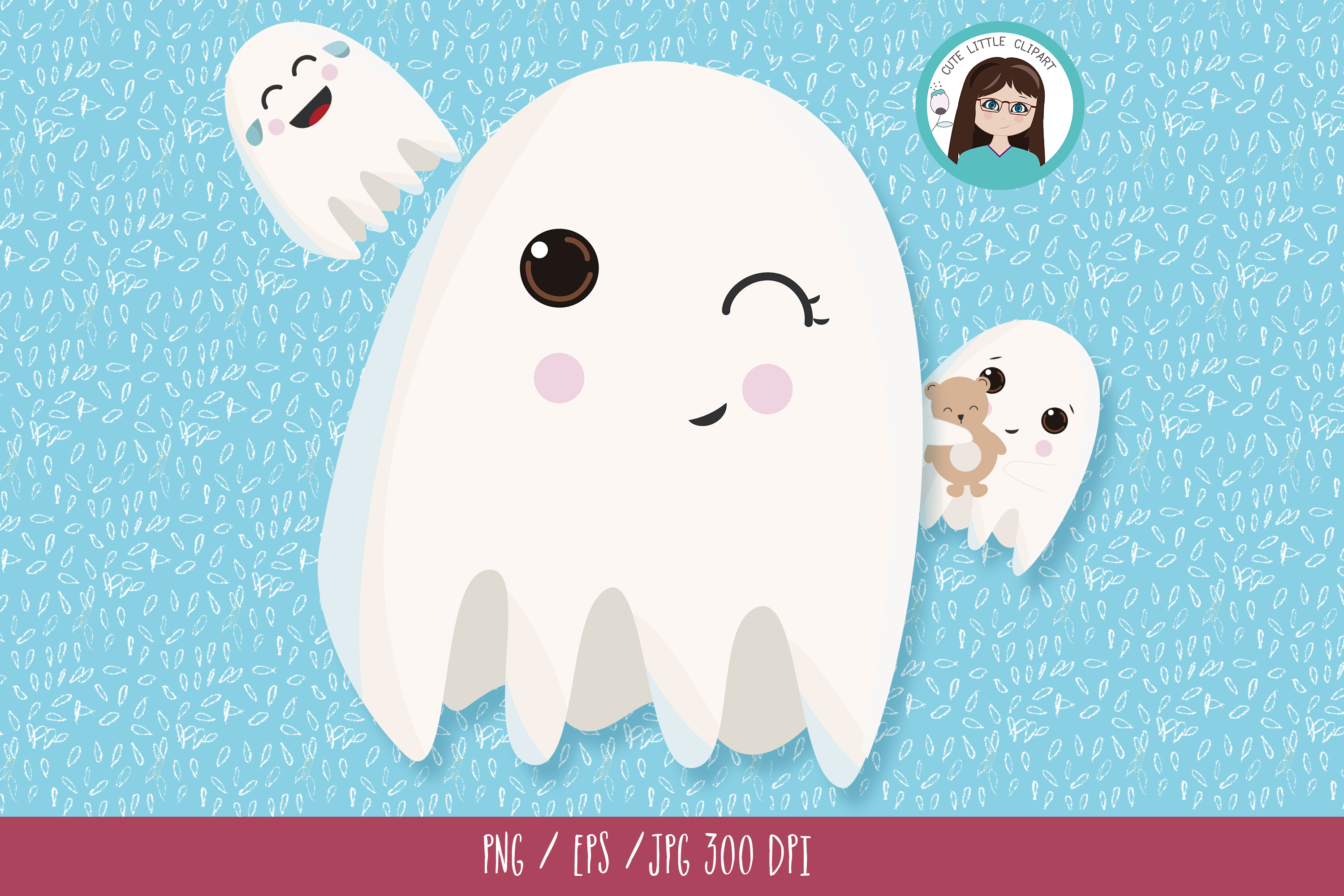 Ghost clipart example image 4