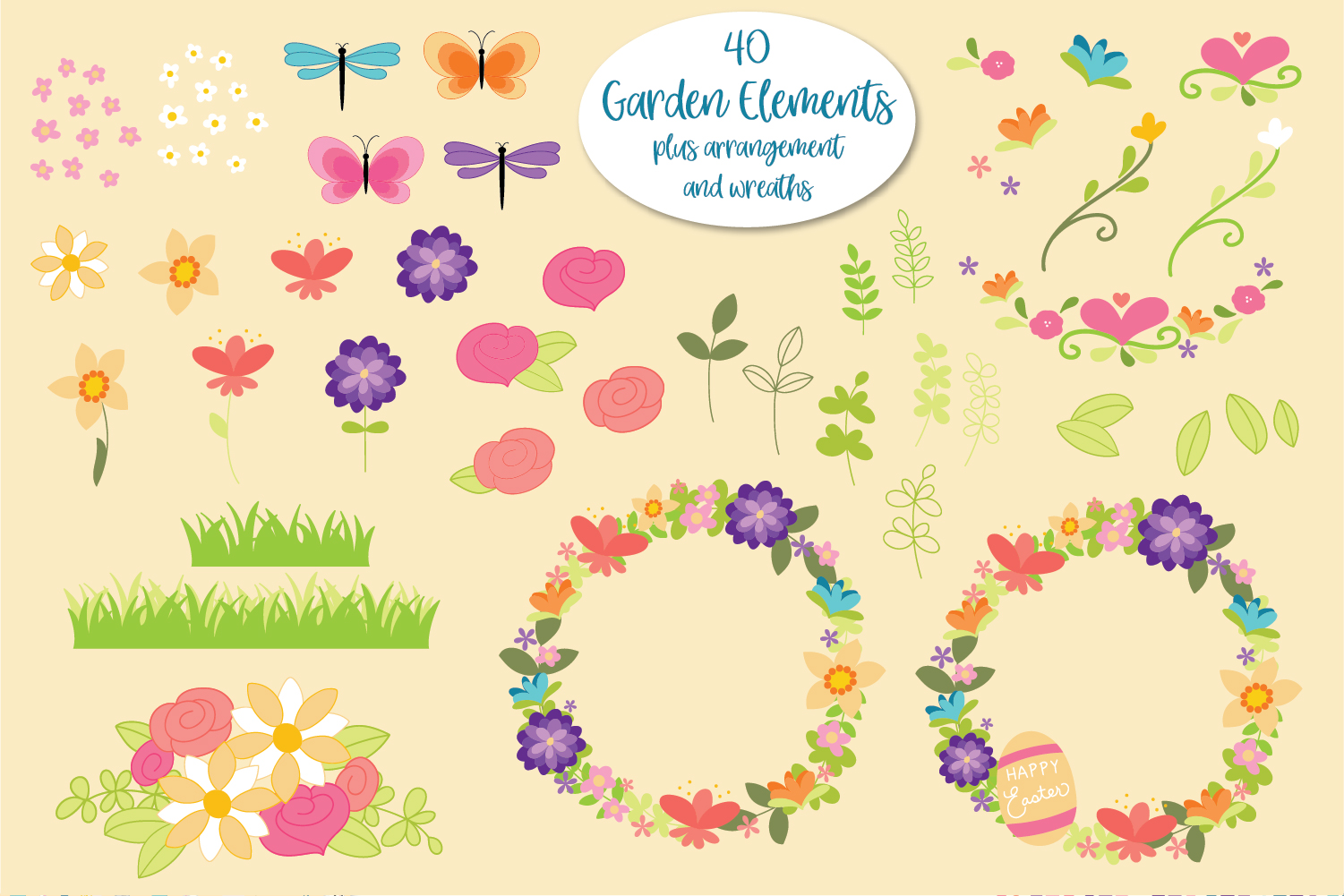 It's Springtime - Easter & Spring Graphics and Papers example image 3