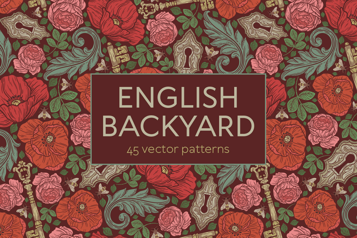 English Backyard patterns example image 1