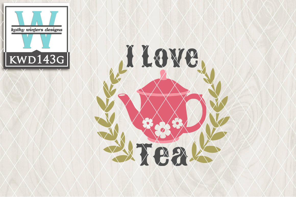 Tea Cutting File KWD143G example image 1