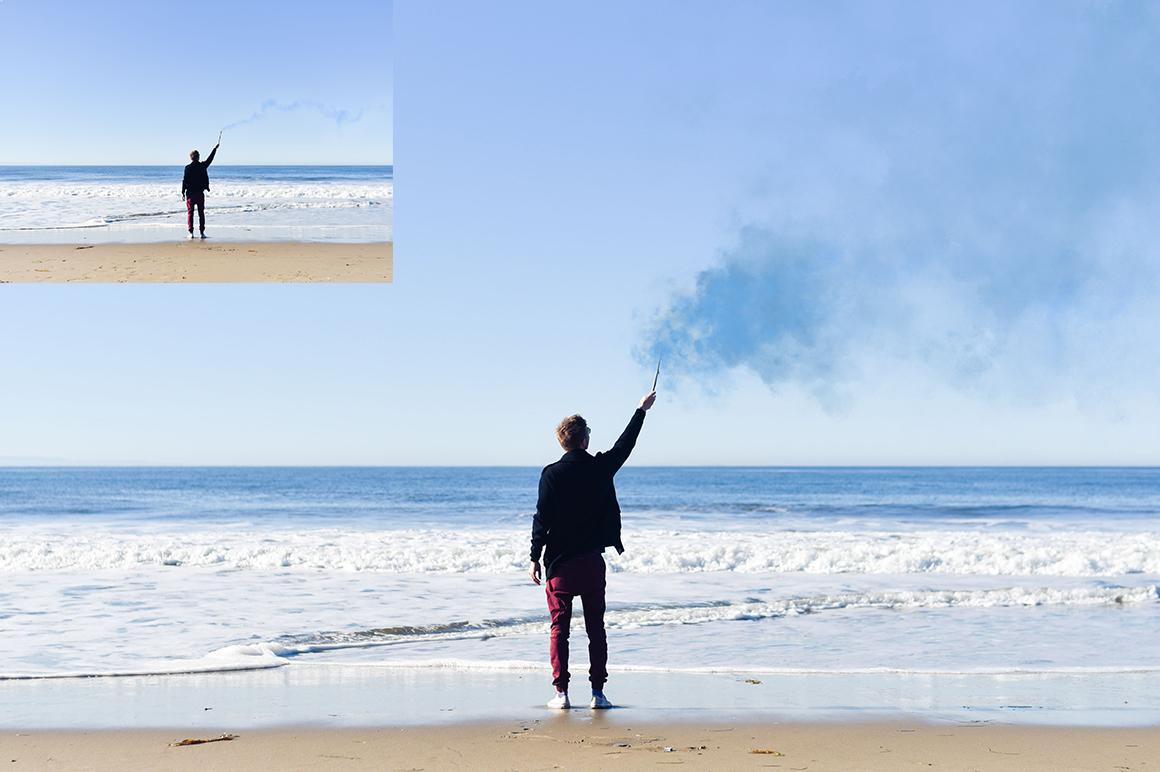 Smoke Photoshop Brushes example image 8