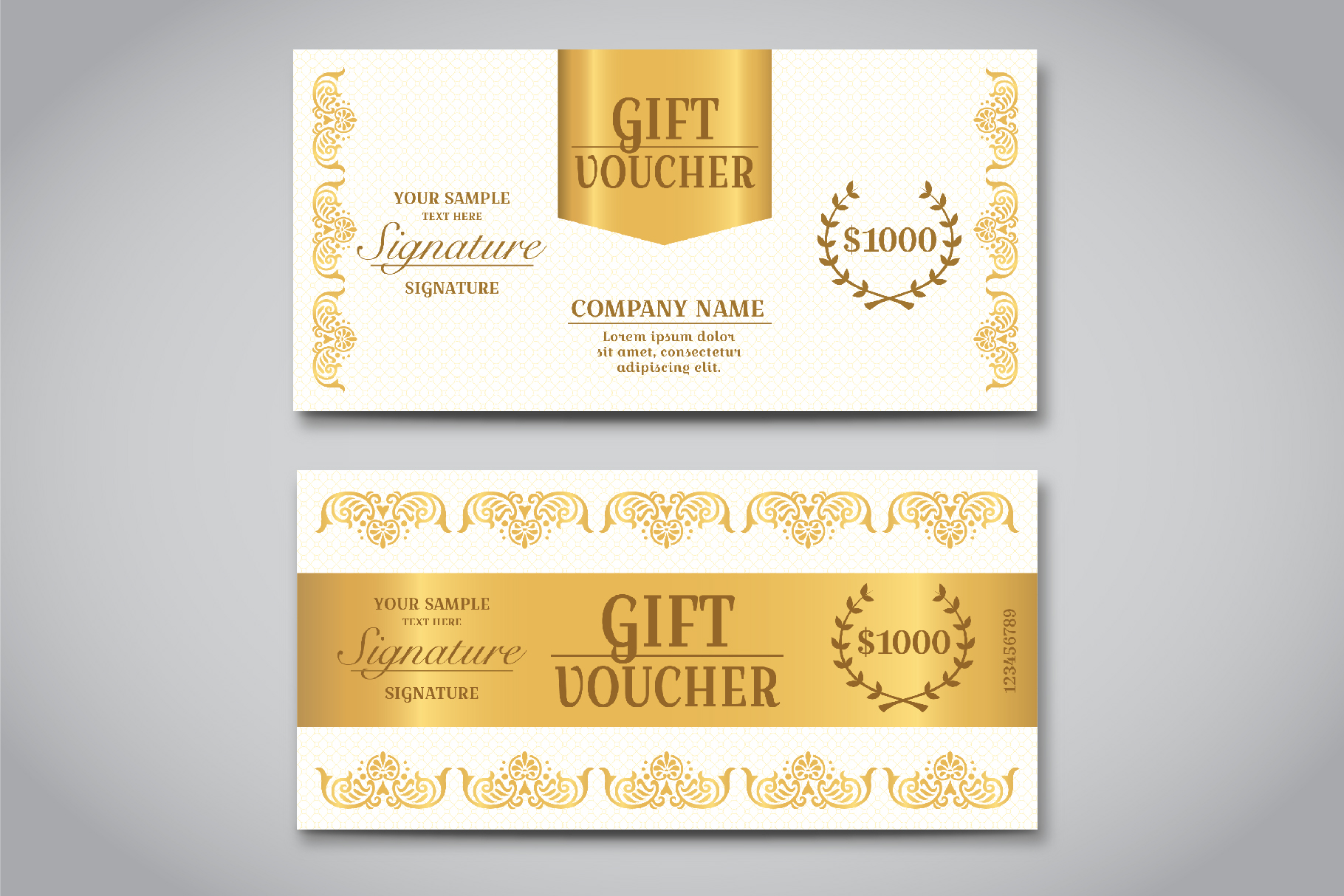 Exclusive Gift Voucher Template example image 4