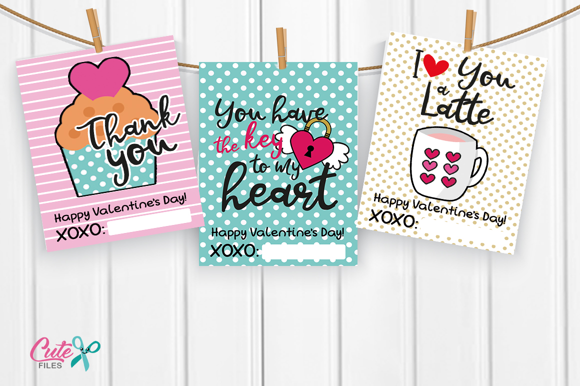 Valentines day Printable cards for your friends example image 2