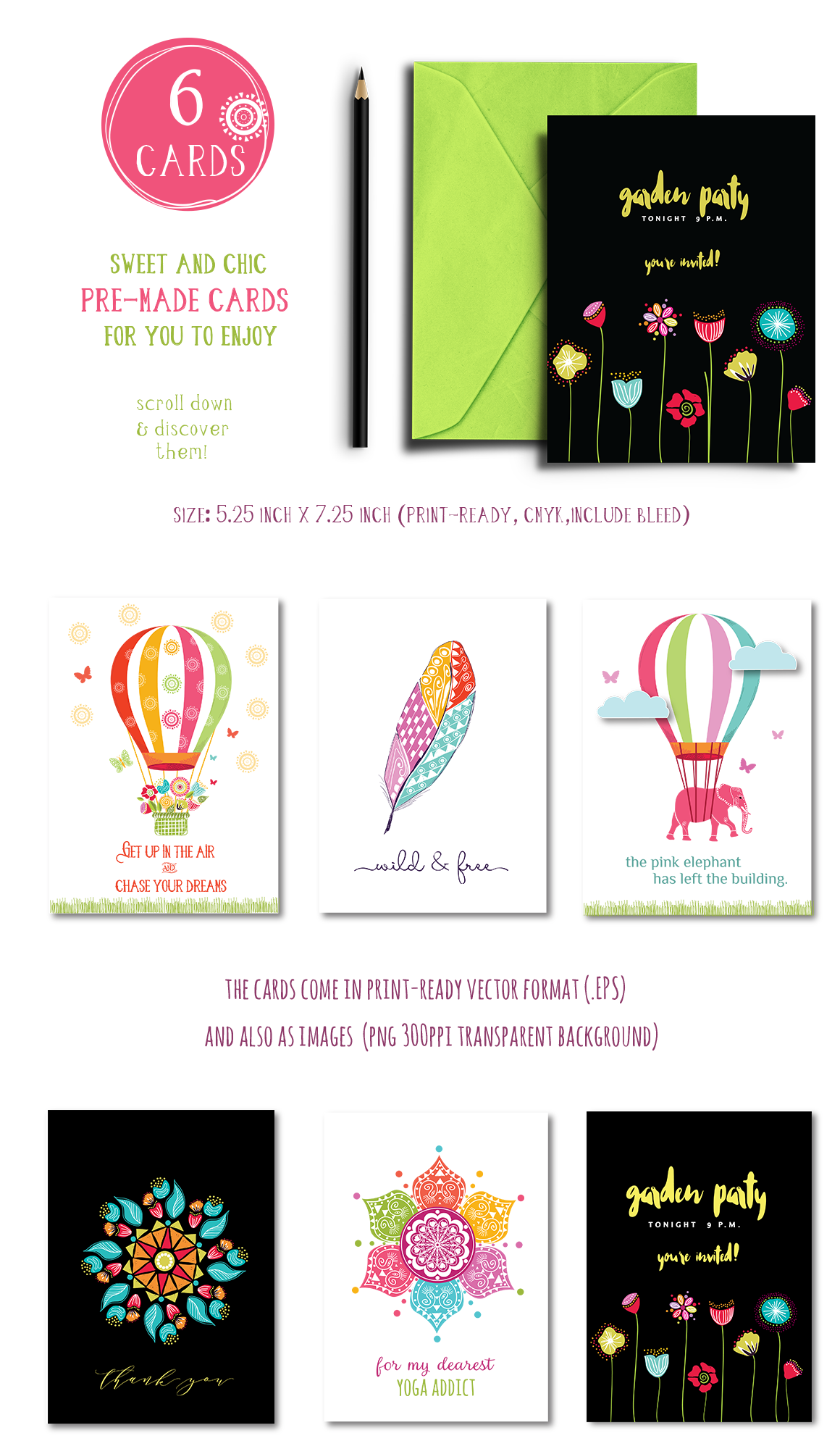Playful Summer Colorful Bohemian example image 23