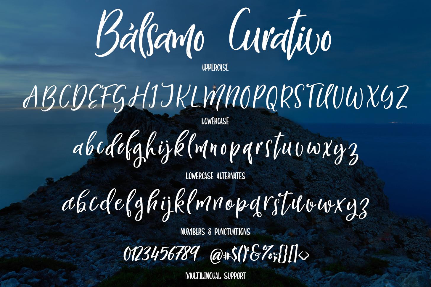 Bálsamo Curativo - Font Dou example image 9