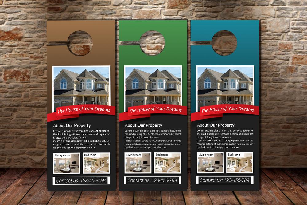 Real Estate Door Hangers example image 3