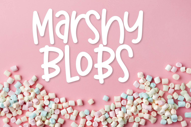Marshy Blobs example image 1