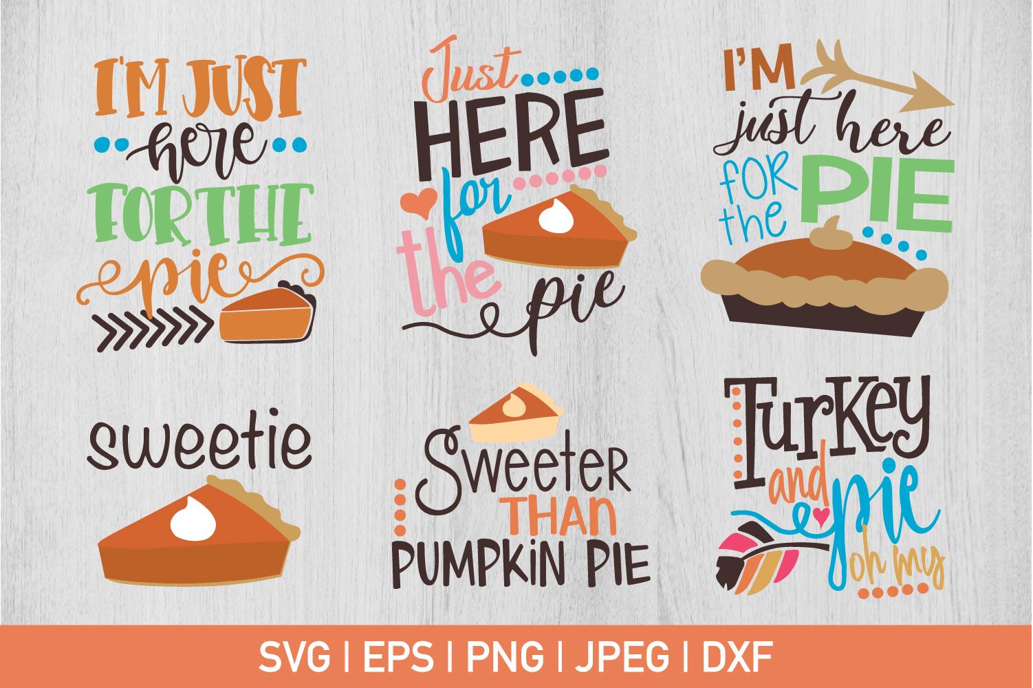 Thanksgiving Pie Bundle example image 1