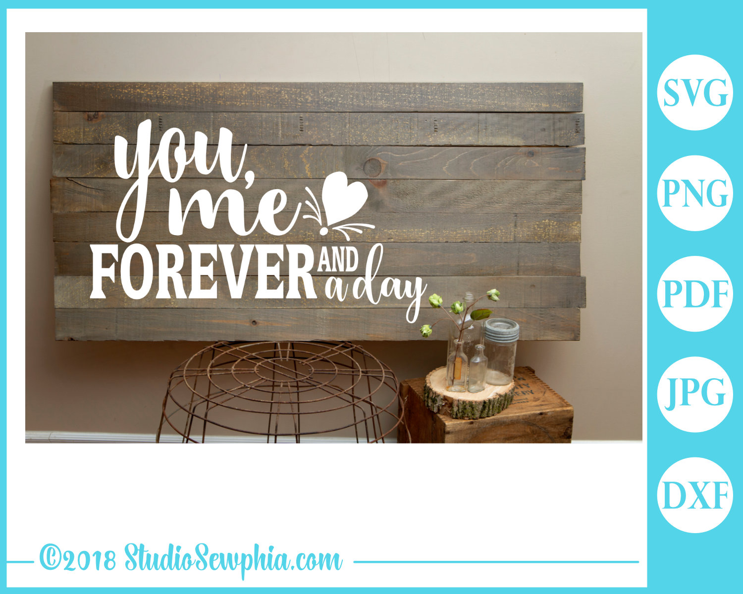 You, Me, Forever and a Day by Digital Doodle Pad example image 2