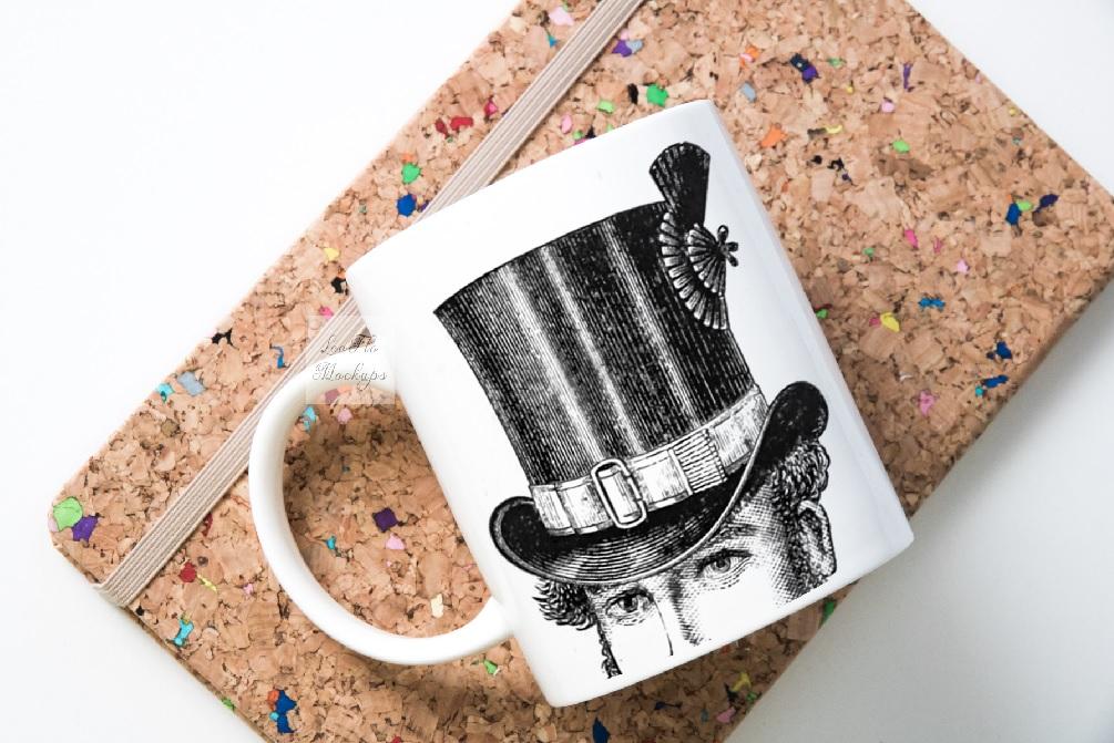 Mug mockup modern flatlay sublimation 11oz cup mock up example image 6