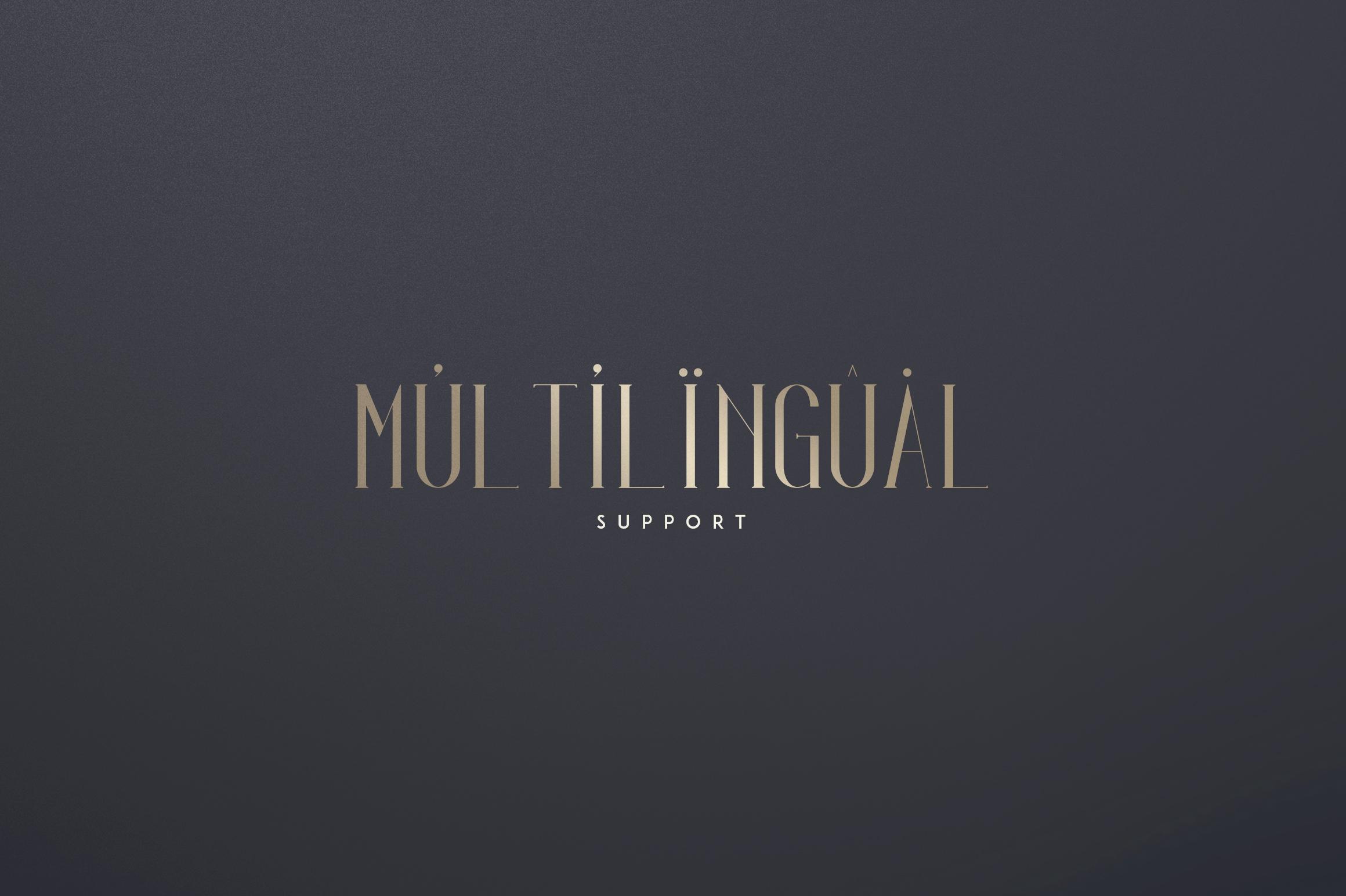 Irina Luxe Serif Font example image 5