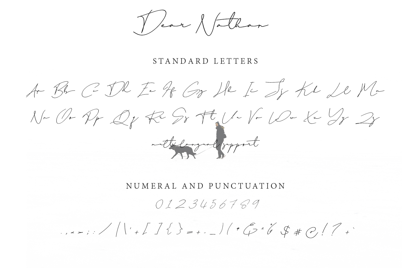 Dear Natha Handwritten Signature example image 10