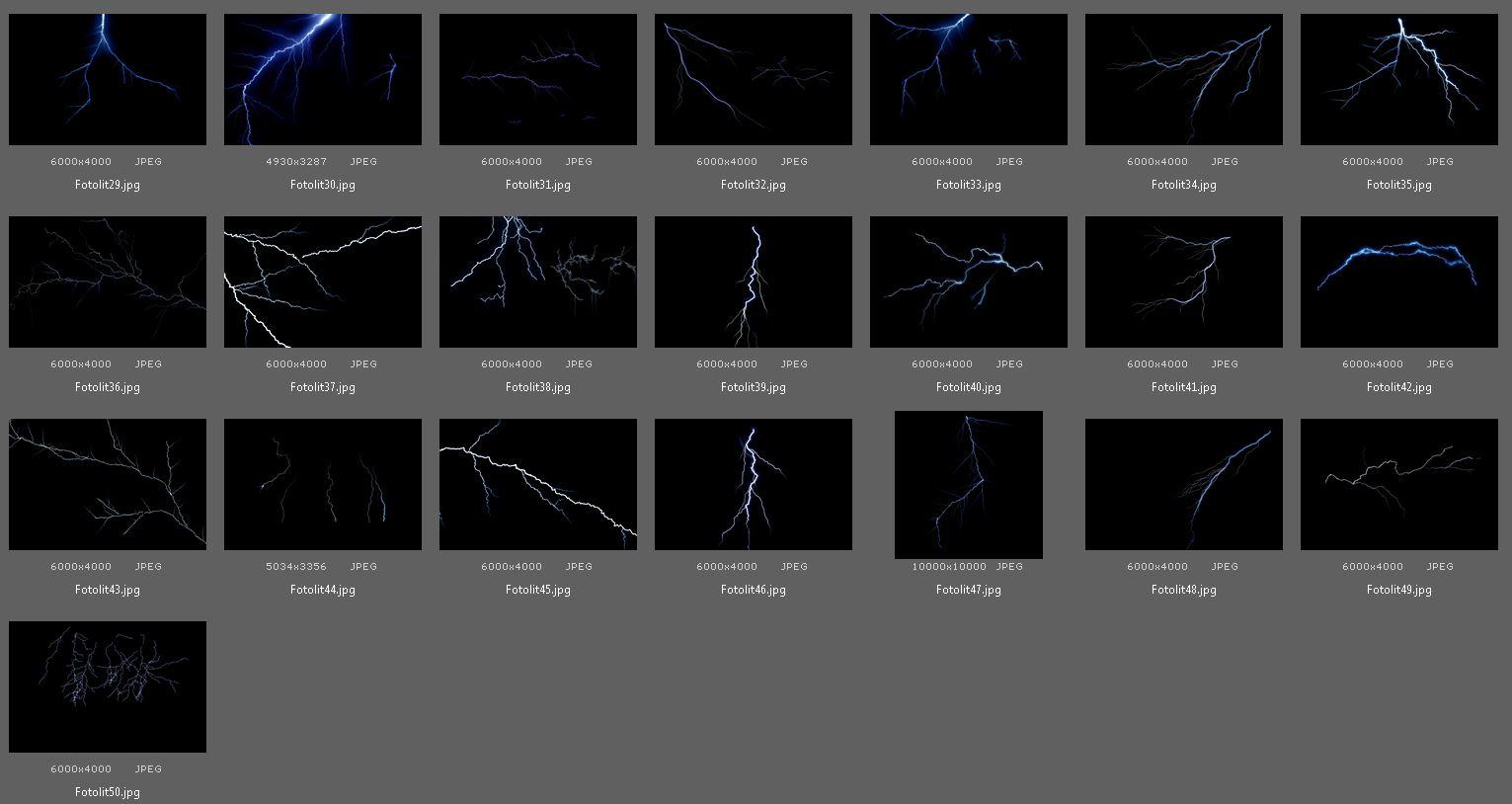50 Lightning Photo Overlays example image 5