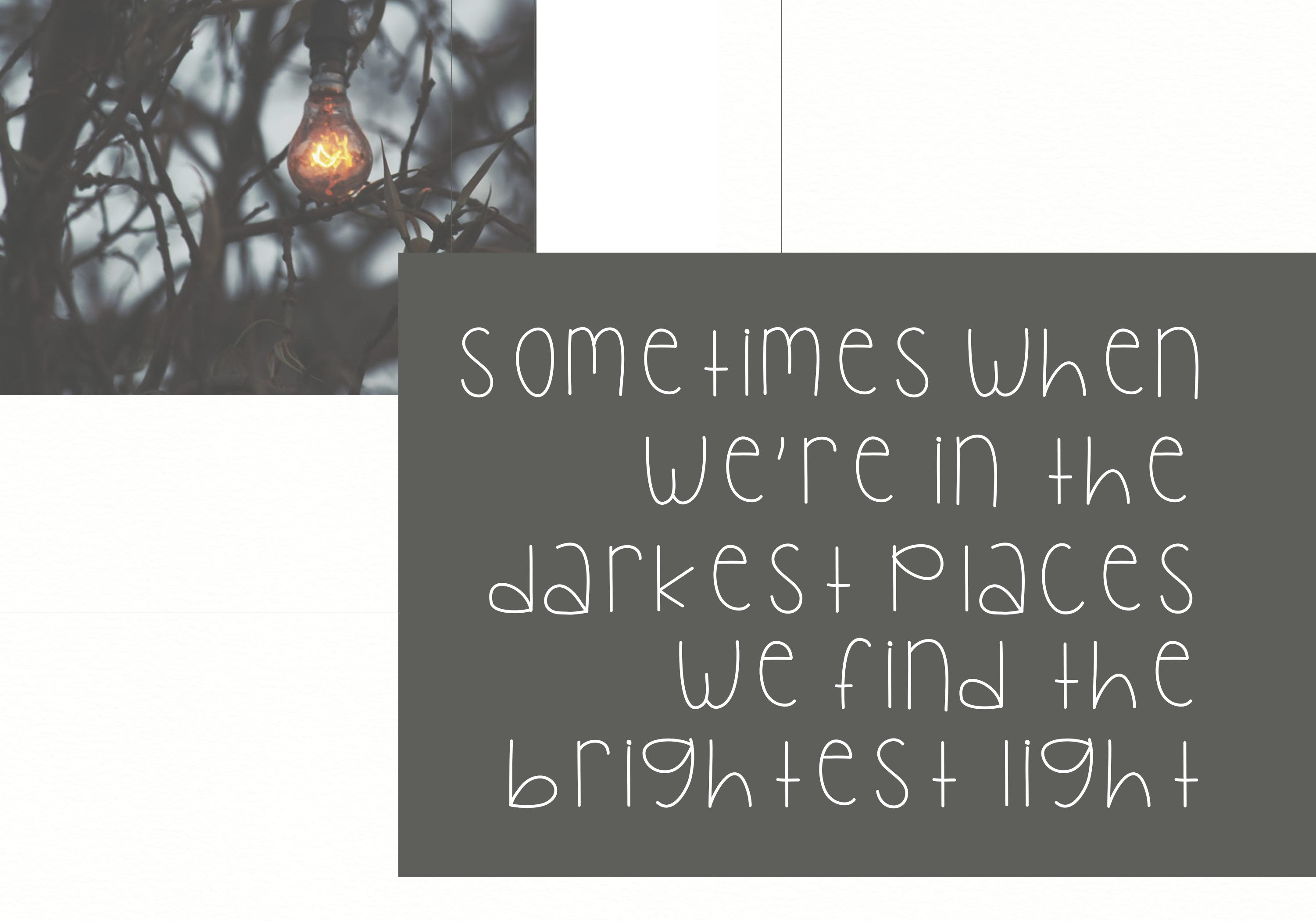 Bright Lights - A Cute Handwritten Font example image 3