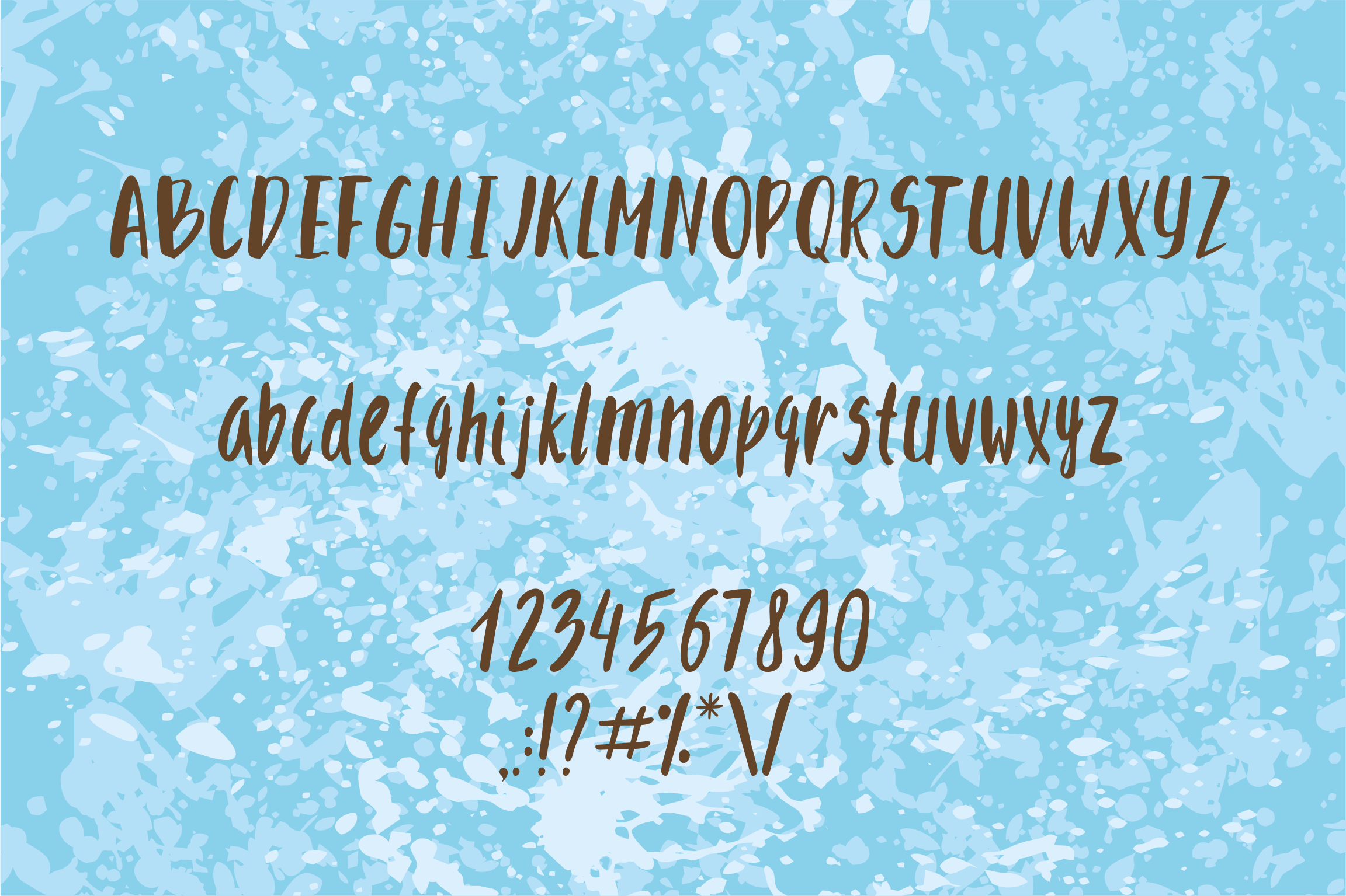 Font spring and suitscases example image 3