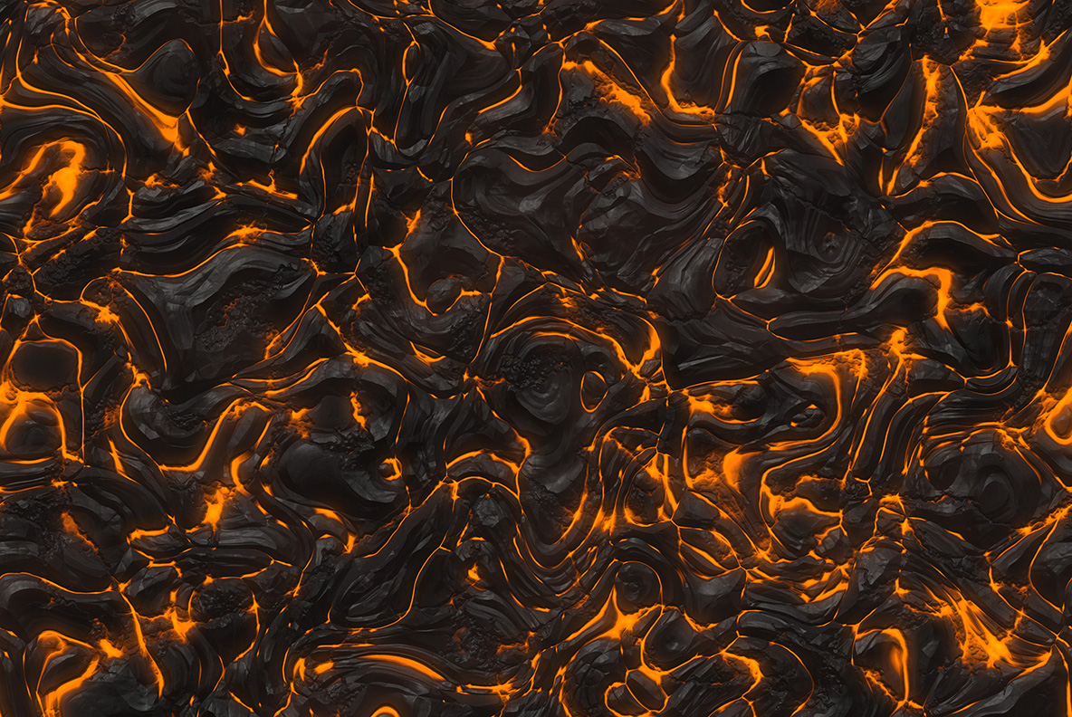Fire and lava textures example image 5