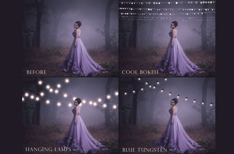 Fairy light overlays example image 6