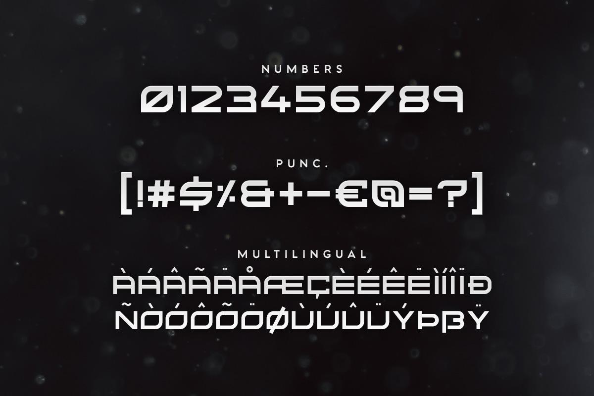 Kusanagi - Futuristic Font example image 3