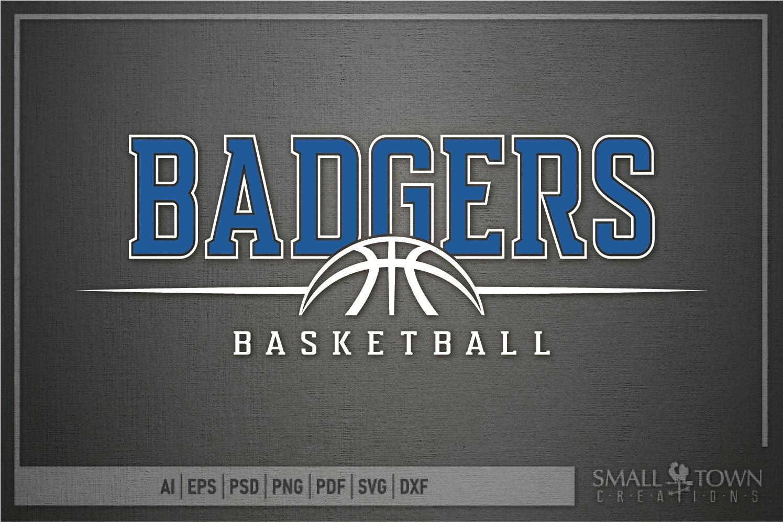 Badger, Badger Basketball Team, Sport, PRINT, CUT & DESIGN example image 5