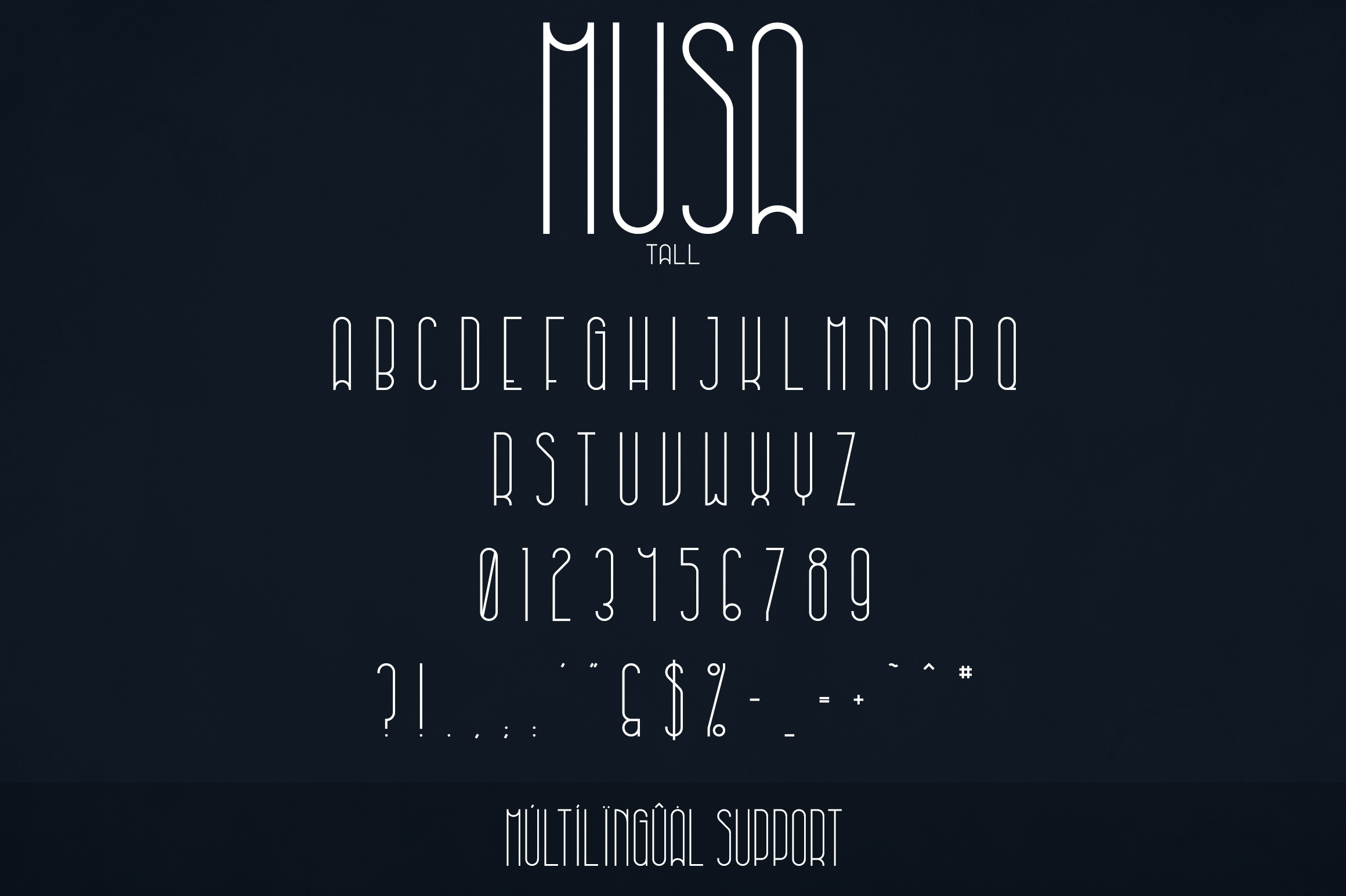 Musa Display Typeface - 12 fonts example image 10